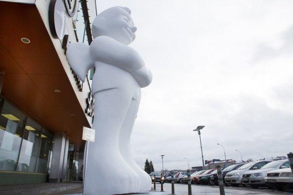 VCUP nuotr./Vilniuje nutūpė didžiausias šaluje angelas