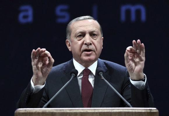 """Scanpix""/AP nuotr./Recepas Tayyipas Erdoganas"