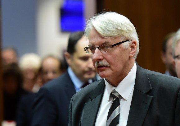 """AFP/""""Scanpix"""" nuotr./Witoldas Waszczykowskis"""