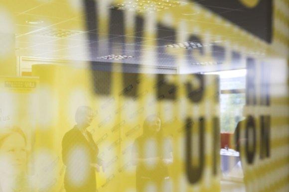 """Irmanto Gelūno / 15min nuotr./""""Western Union"""" ketvirtadienį atidarė naują biurą Vilniuje"""