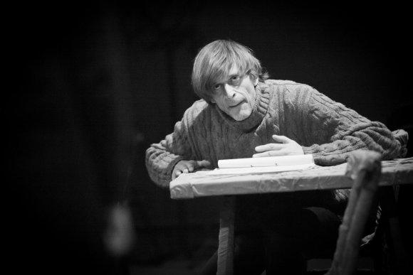 NKDT nuotr./Dainius Svobonas kuria skulptoriaus Rubeko vaidmenį