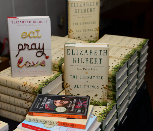 Vida Press nuotr./Amerikiečių autorės Elizabeth Gilbert knygos