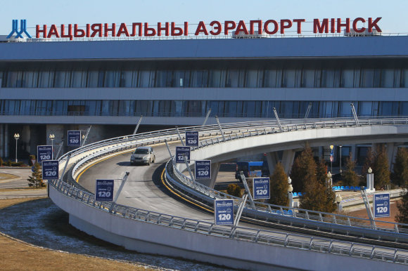 """Scanpix""/""RIA Novosti"" nuotr./Minsko oro uostas"