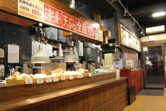 Eilinė pigi Tokijo užeiga pavalgyti