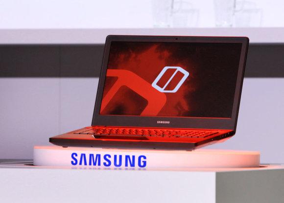 """""""Reuters""""/""""Scanpix"""" nuotr./""""Samsung"""" kompiuteris, skirtas žaidimams"""