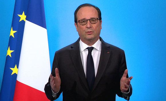 """""""Reuters""""/""""Scanpix"""" nuotr./Francois Hollande'as"""