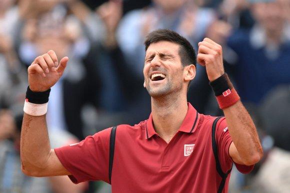 """""""Scanpix"""" nuotr./Novakas Džokovičius tapo """"Roland Garros"""" čempionu"""