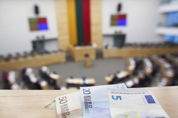 Irmanto Gelūno / 15min nuotr./Seime pradėta svarstyti 2016 metų biudžetas