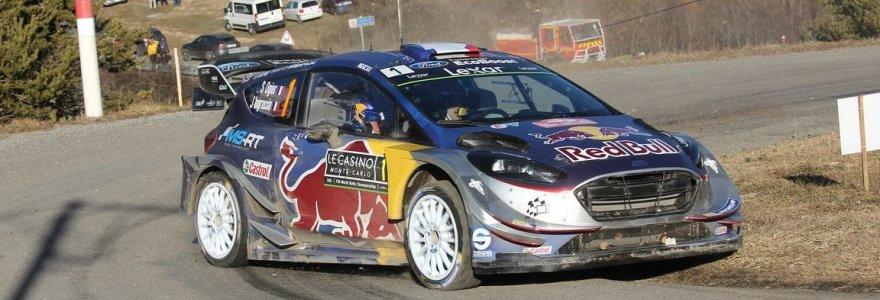 Į lyderio poziciją WRC Monte Karlo ralyje išsiveržė S.Ogier
