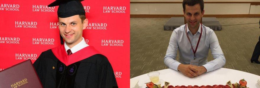 Įkvepianti kauniečio istorija: nuo bažnyčios sodininko iki Harvardo teisės magistro