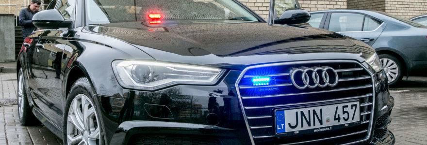 """Nežymėto policijos automobilio konkursas: """"Audi A6"""" konkurentai neturėjo jokių šansų"""