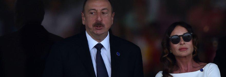 Azerbaidžanas – valstybė, kurioje lyderis savo žmoną paskyrė viceprezidente