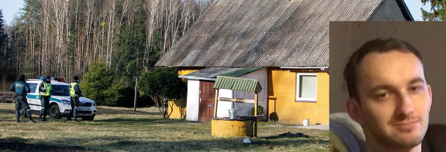 Šeimos žudynės Gaižėnų kaime: su kovo mėnesį įsigytu ginklu E.Anupraitis paleido bent 21 šūvį, motyvai – neaiškūs
