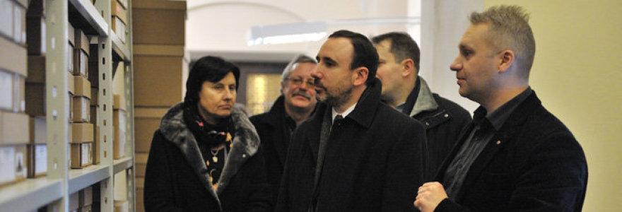 Korupcijos byloje įtariama socialdemokratų lyderių patikėtinė Džiuljeta Žiugždienė prieglobstį rado Kultūros ministerijoje