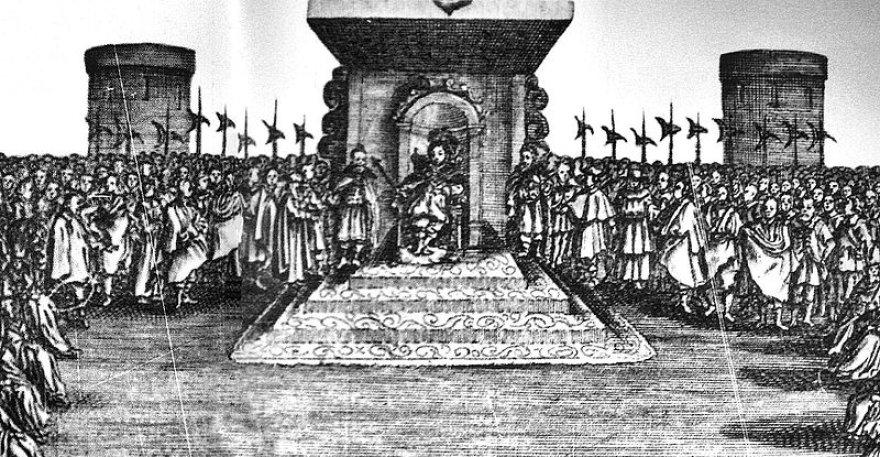 Henrikas Valua karaliaus soste