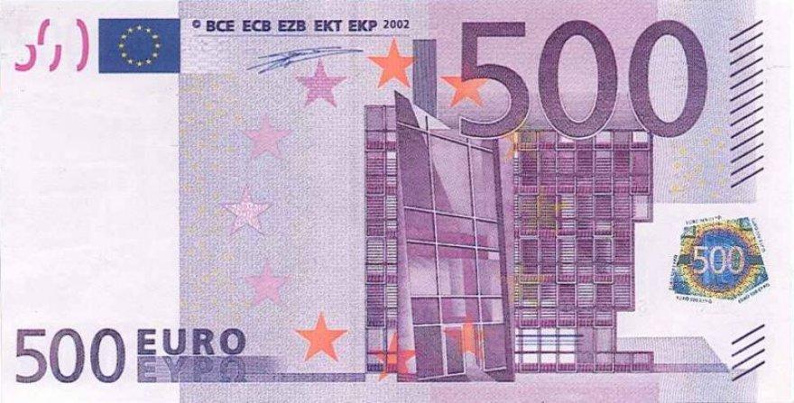 500 eurų banknotas