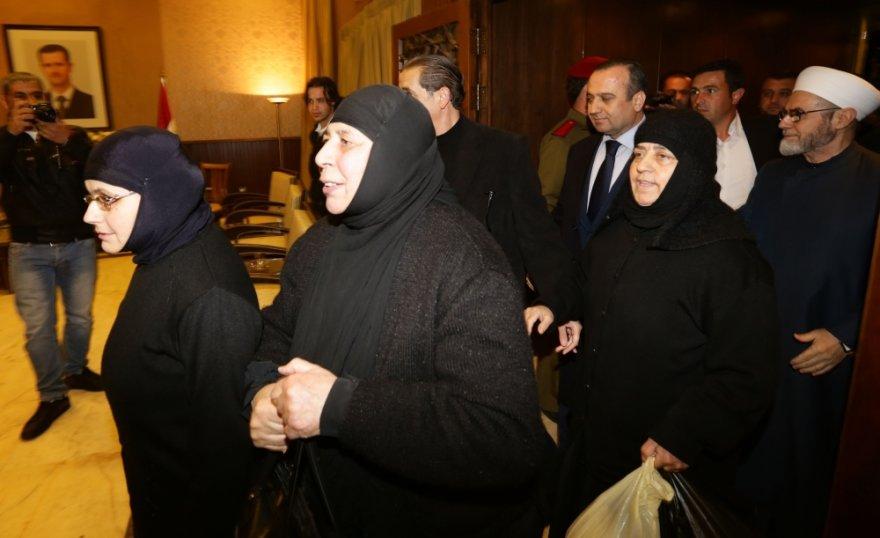 Vienuolės, kurias pernai gruodį pagrobė Sirijos sukilėliai, paleistos į laisvę