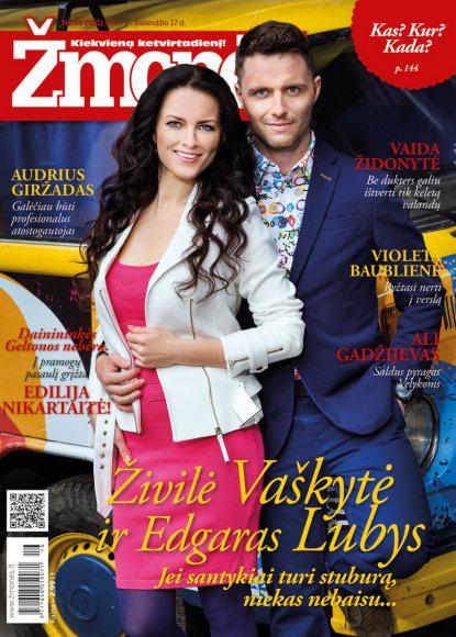 Živilė Vaškytė ir Edgaras Lubys