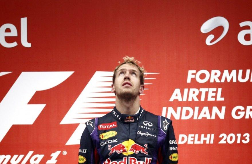 Sebastiano Vettelio triumfo akimirkos