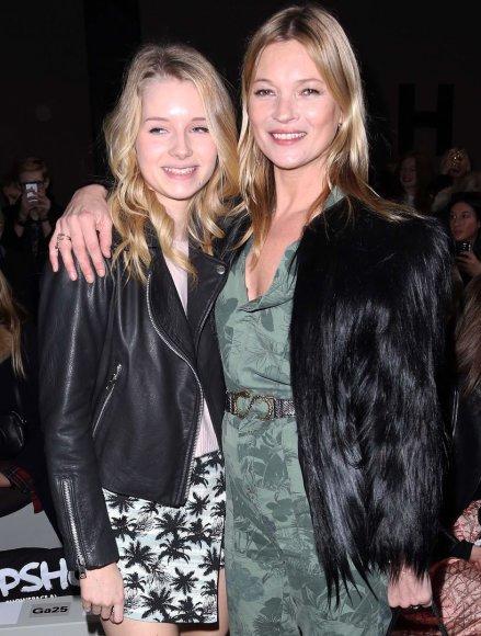 Kate Moss su seserimi Lottie Moss