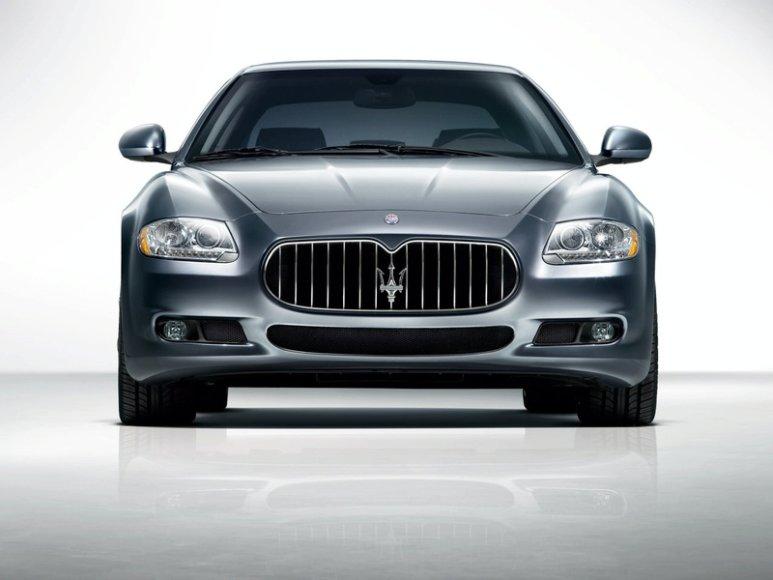 """""""Maserati Quattroporte"""" laukia atnaujinimas"""