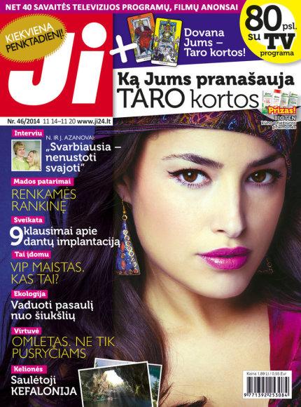 """2014 m. lapkričio mėnesio žurnalo """"Ji"""" Nr. 46"""