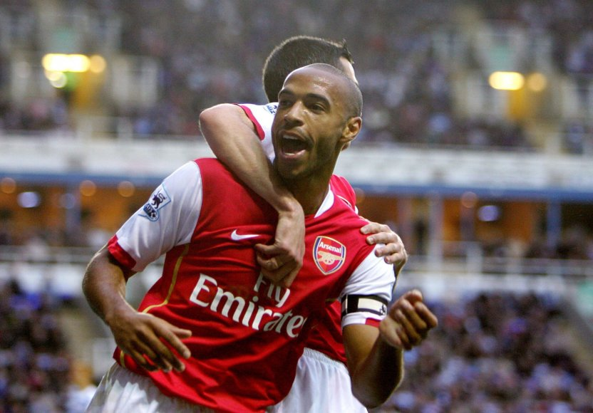 "Thierry Henry – ""Arsenal"" legenda"