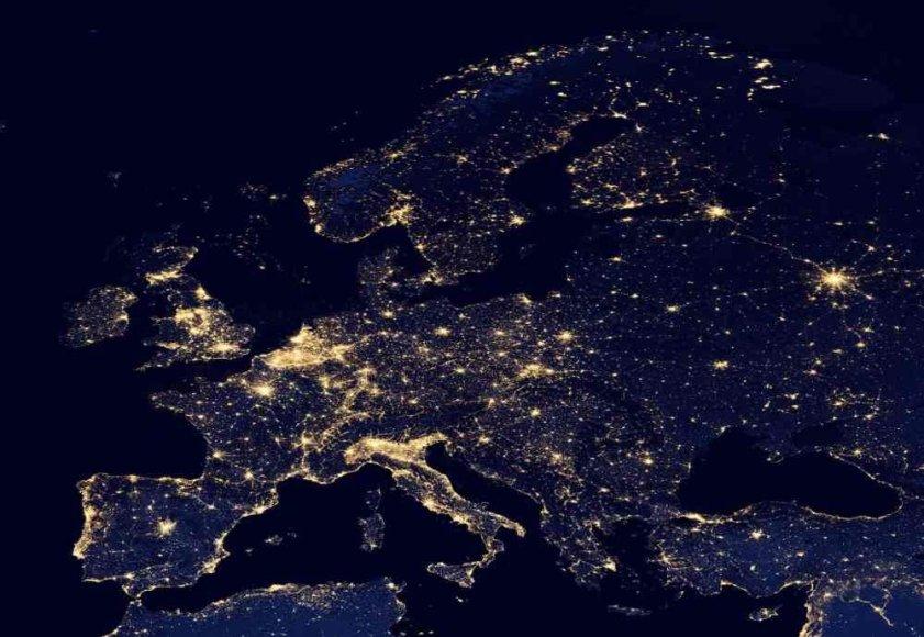 Europa naktį