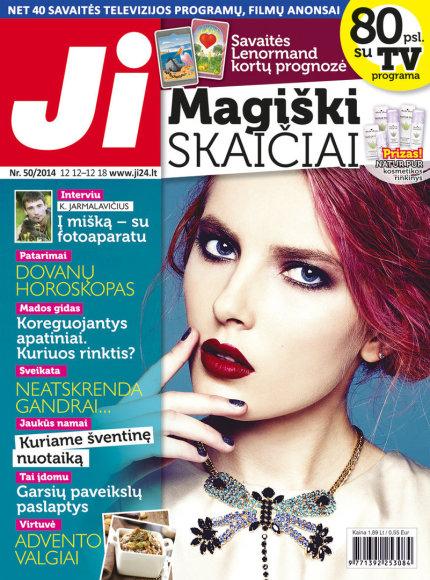 """2014 m. gruodžio mėnesio žurnalo """"Ji"""" Nr. 50"""