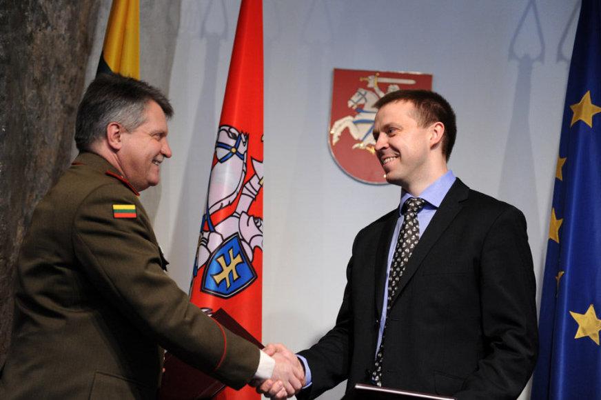 Paulius Motiejūnas ir Jonas Vytautas Žukas