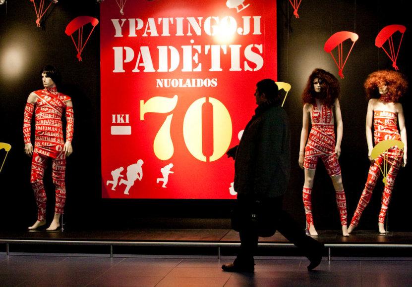 Senas, bet Lietuvoje veiksmingas būdas priversti pirkti – paskelbti nuolaidų akcijas.