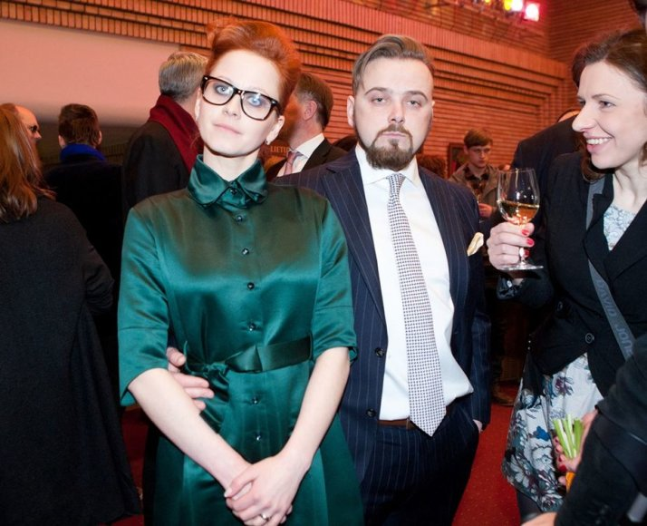 Gintarė Latvėnaitė ir Kirilas Glušajevas