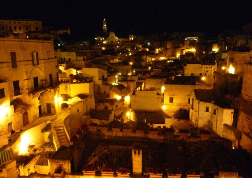Matera, vienas seniausių pasaulio miestų