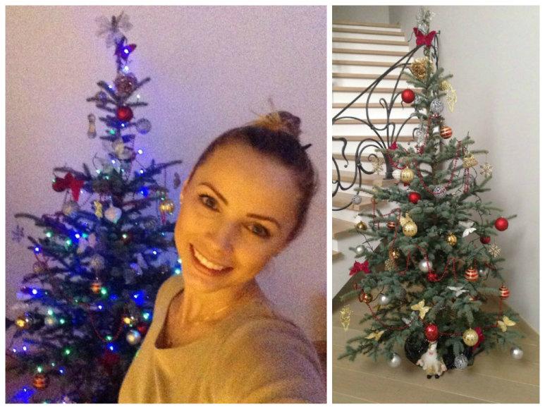 Goda Alijeva ir jos Kalėdų eglė