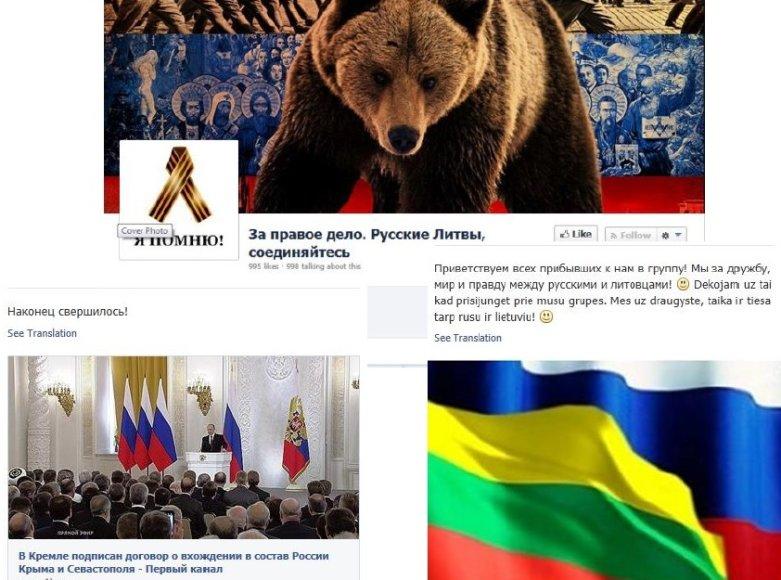 Lietuvos šeštoji kolona aktyviai reiškiasi socialiniuose tinkluose.