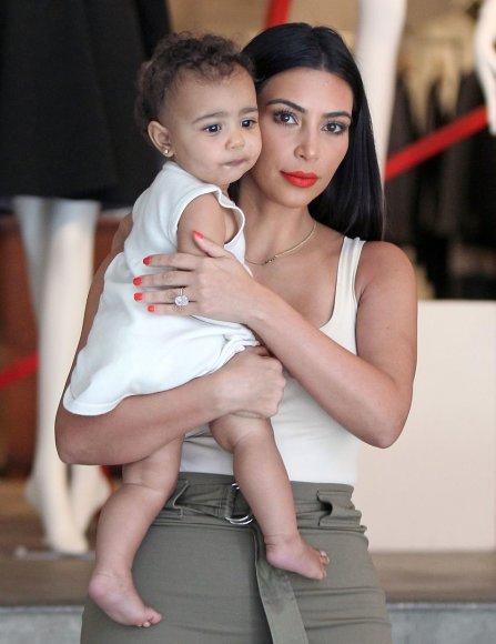Kim Kardashian su dukra North
