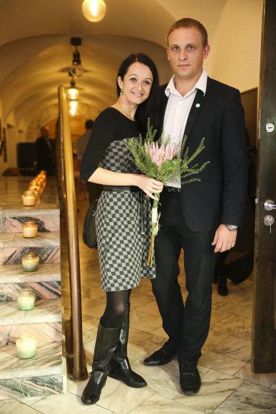 Rasa Židonytė ir Karolis Ramoška