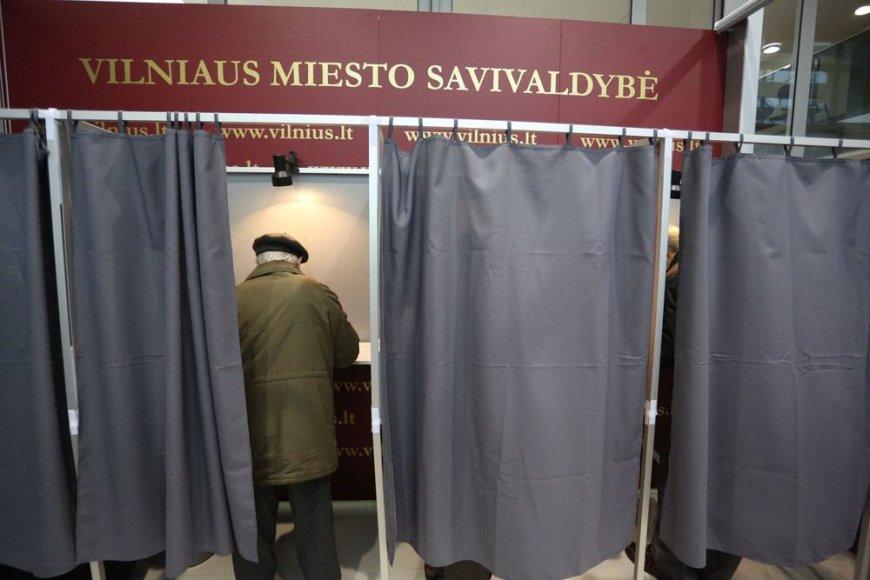 Išankstinis balsavimas Vilniuje