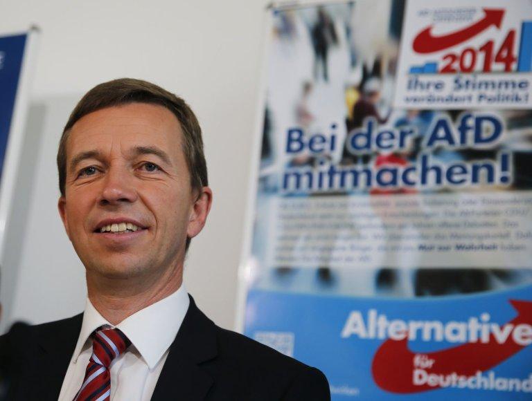 """""""Alternatyva Vokietijai"""" lyderis Berndas Lucke'as"""