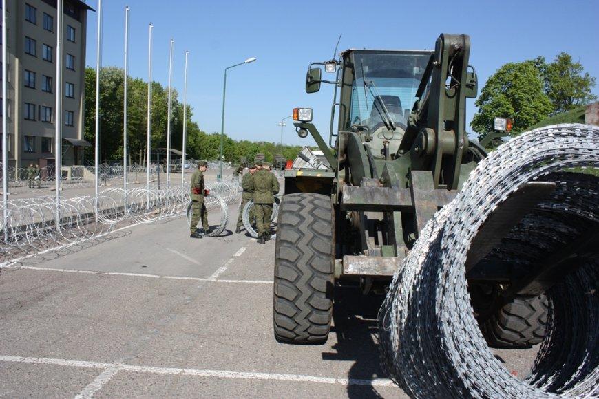 Pasiregimas NATO pratyboms