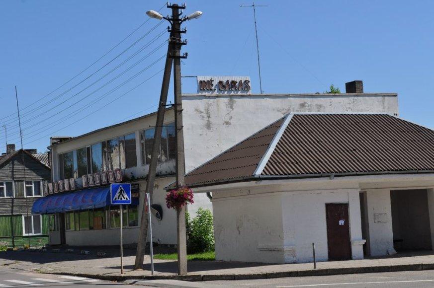 Veisiejų miestelio centre