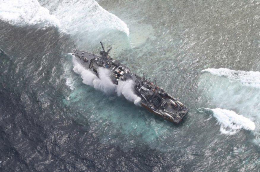 JAV karinis laivas