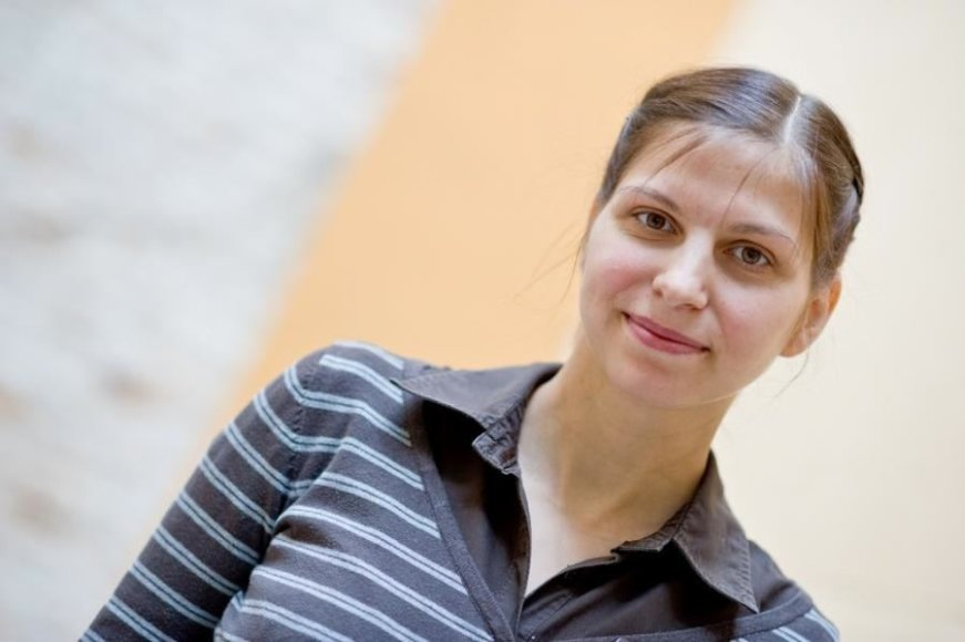 """Laura Kanapieniene,  LAA """"Lietaus vaikai"""" valdybos pirmininkė."""