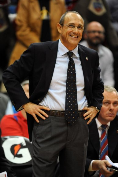 CSKA treneris Ettore Messina