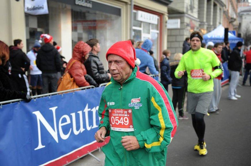 Vytautas Stanevičius 2013-ųjų Kalėdiniame bėgime