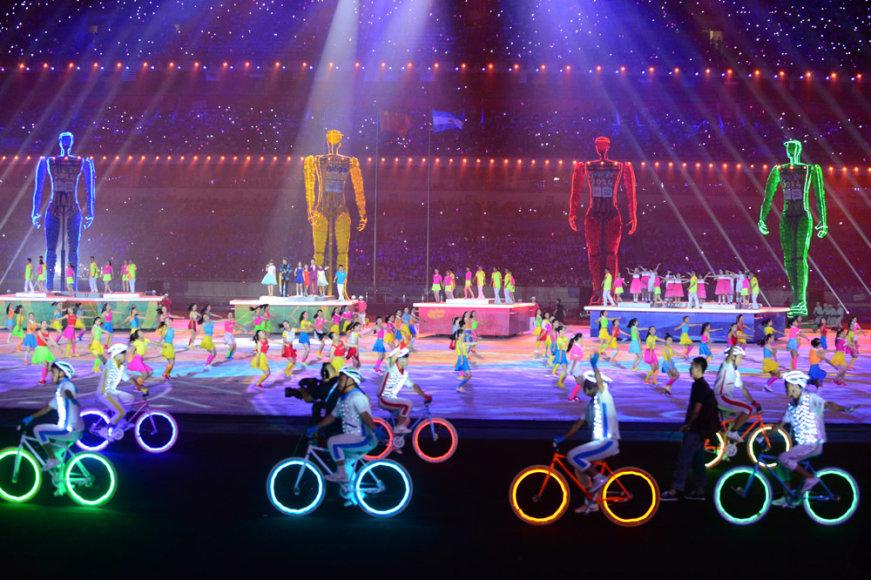 Nandzingo jaunimo olimpinių žaidynių uždarymo ceremonija