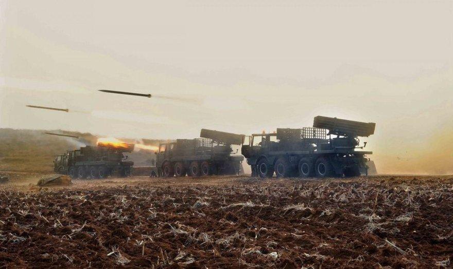 Karinės pratybos Šiaurės Korėjoje