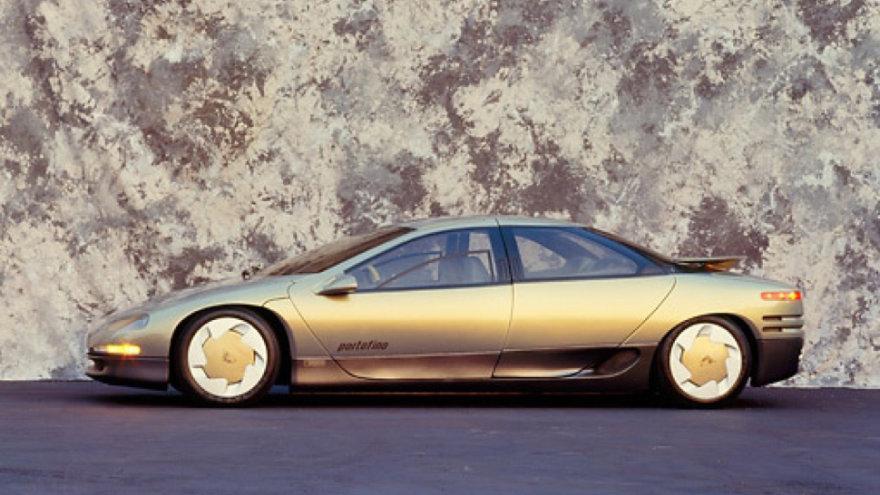 """1987-ųjų """"Lamborghini Portofino"""" konceptas"""