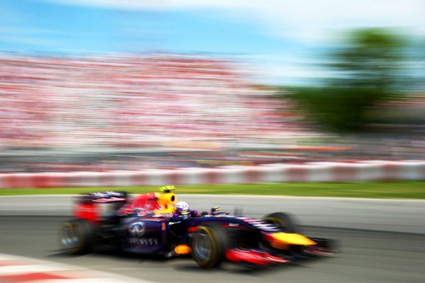"""""""Formulės-1"""" lenktynės Kanadoje"""