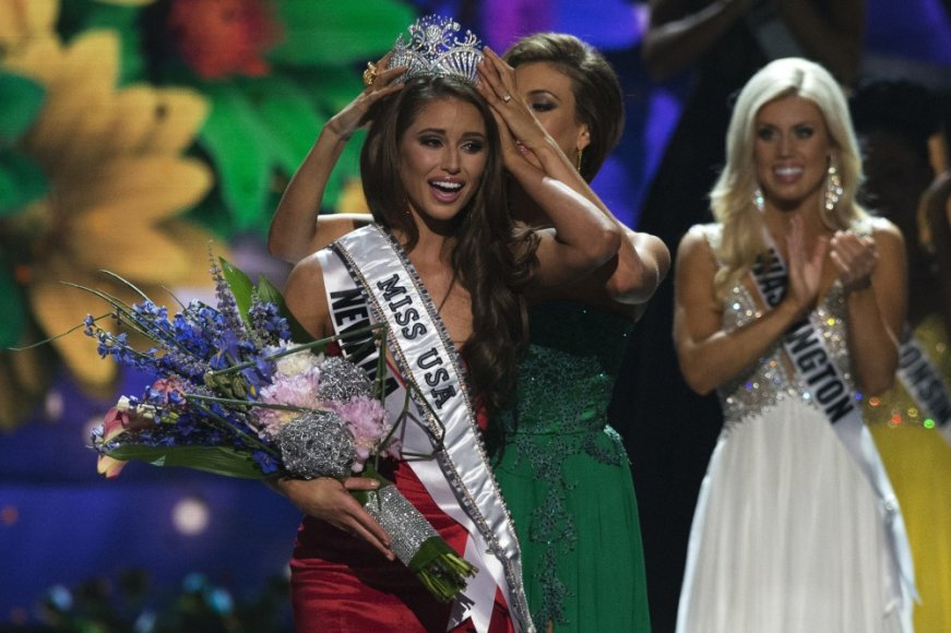 """Mis JAV 2014"" nugalėtoja Nia Sanchez"